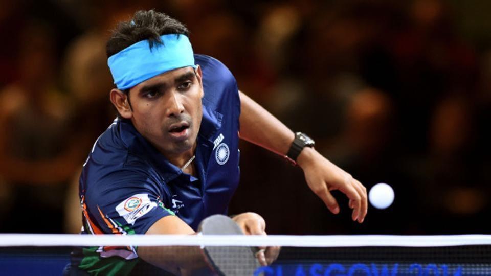 Image result for अचंता शरत ने टेबल टेनिस में दिलाया हिंदुस्तान को कांस्य पदक