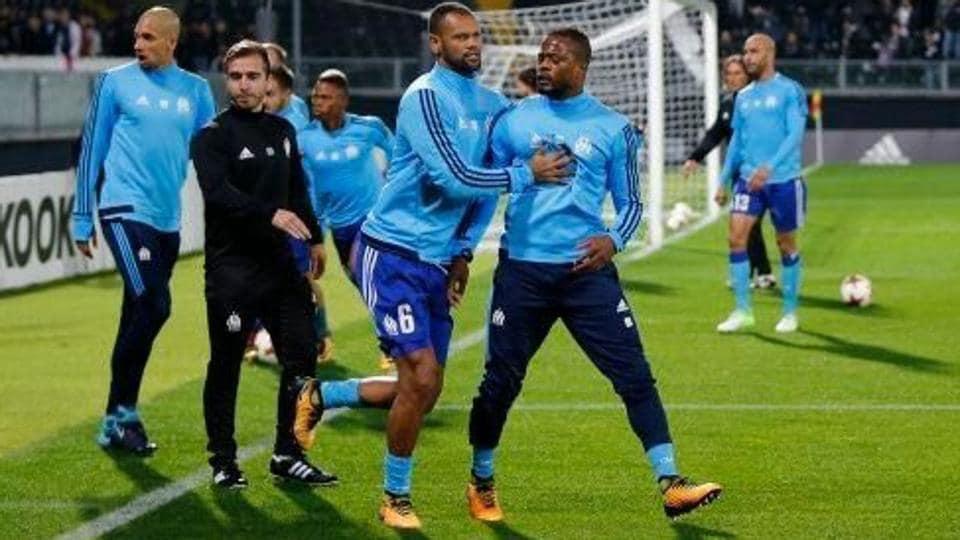 Patrice Evra,Olympique de Marseille,UEFA Europa League