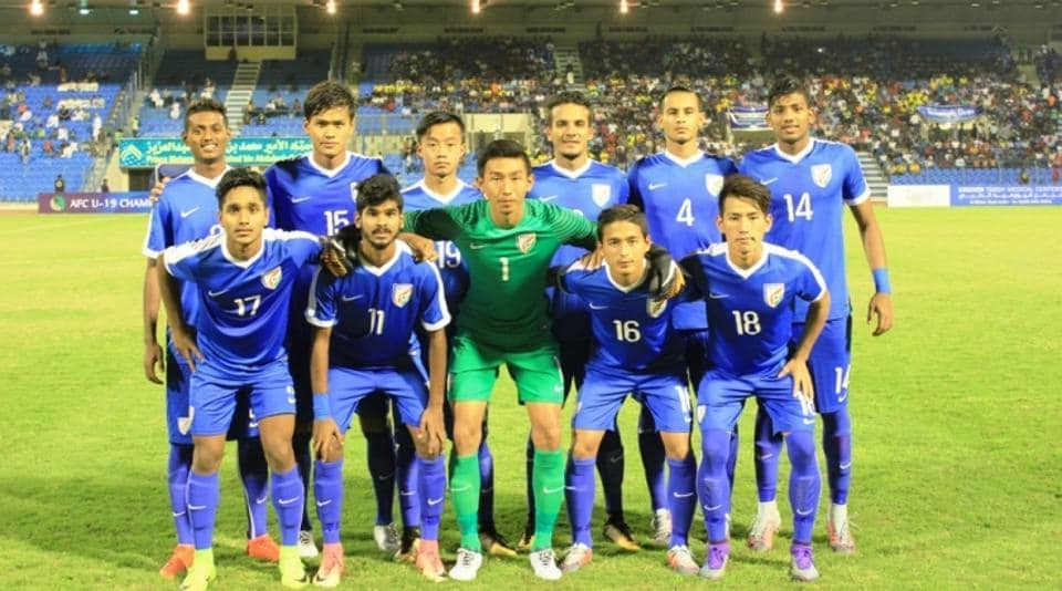 India were thrashed 5-0 by Saudi Arabia in an AFC U-19 Championship qualifier.