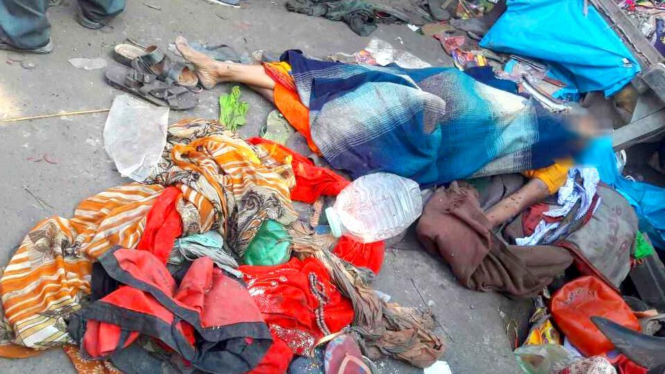 Three women were killed in stampede in Bihar's Begusarai district.