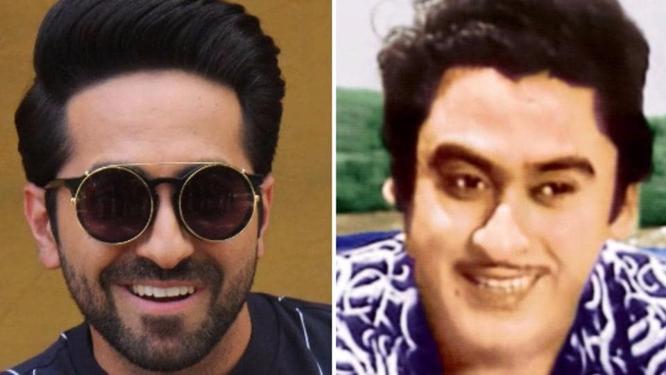 Like Kishore Kumar (right), Ayushmann Khurrana is also an accomplished actor and singer.