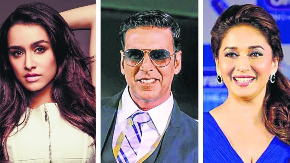 Actors Shraddha Kapoor, Akshay Kumar, and Madhuri Dixit are all doing films that come under the regional cinema umbrella.