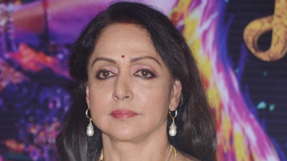 Hema Malini escapes bull attack at Mathura station, official suspended