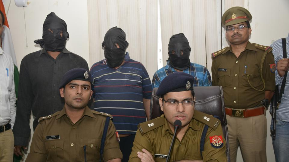 The police identified the prime suspect as Mohammad Zakir and the others as two of his two accomplices – Hridesh Gurjar and Mohammad Yasin.