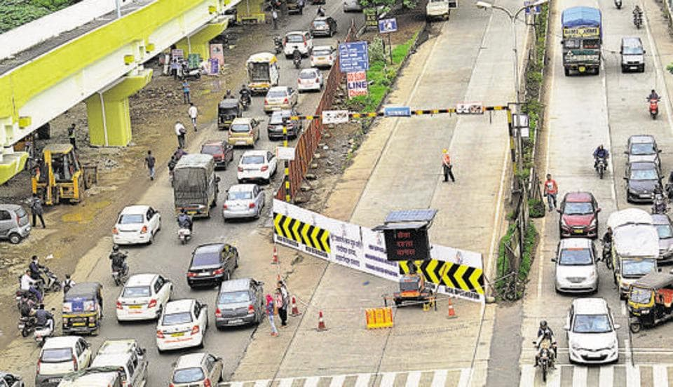 The Metro work between Vanaz and Shivajingar godown has already started.