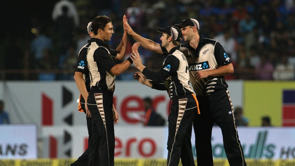 Trent Boult's two wickets jolted India and it was left to Virat Kohli to keep India in the hunt.  (BCCI)