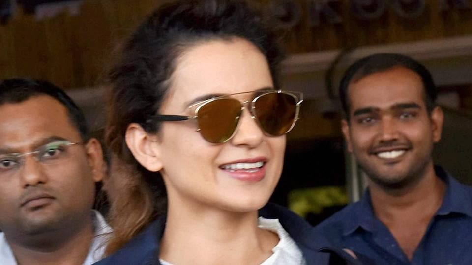 Kangana Ranaut arrives in Jodhpur to shoot for Manikarnika.