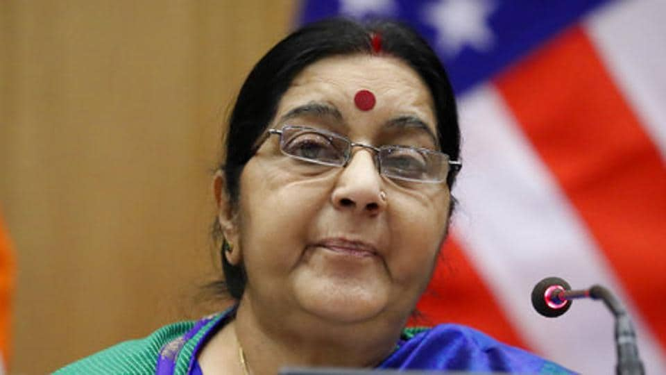 External affairs minister Sushma Swaraj has sought a report from the Indian Embassy in the US.