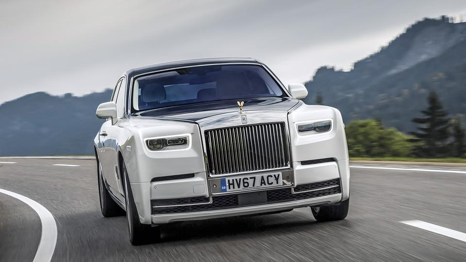 rolls royce phantom drive: it's a work of art, with a ludicrously