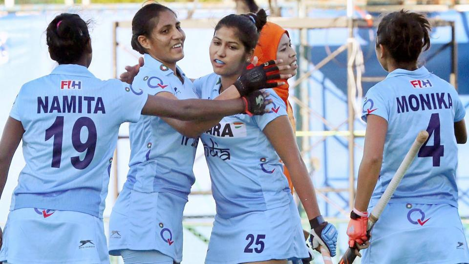 Indian women's team will face China in the final of the 2017 women's Asia Cup hockey.