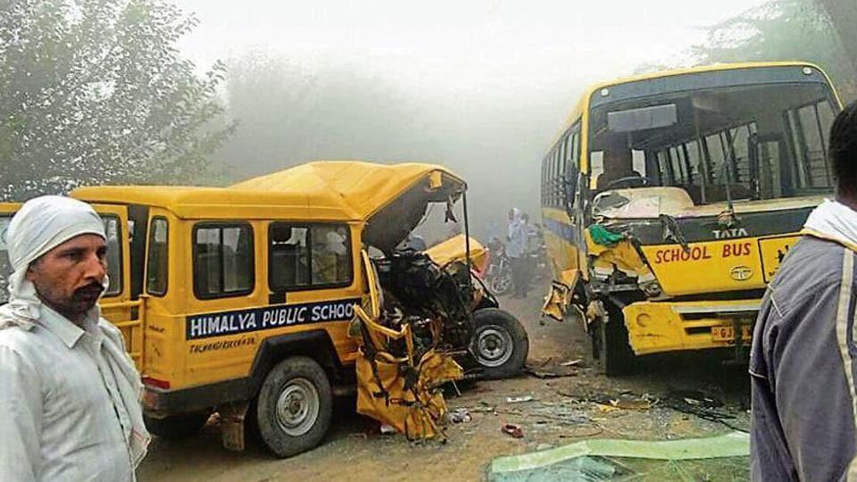 3 teachers killed,seven killed,road mishaps