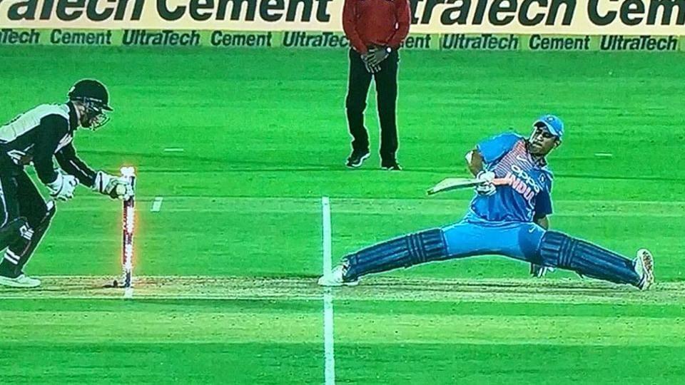 India vs New Zealand,MSDhoni,MS Dhoni Twitter