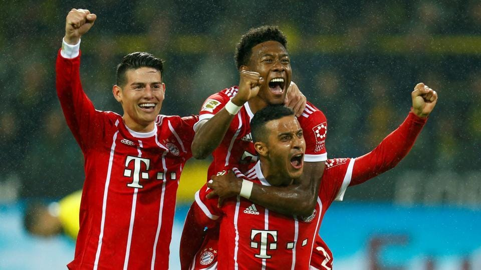 Bayern Munich,Borussia Dortmund,Bundesliga