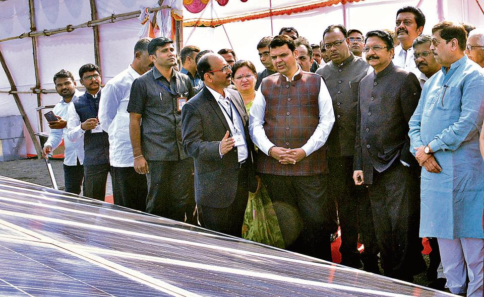 raj bhavan,solar power project,fadnavis