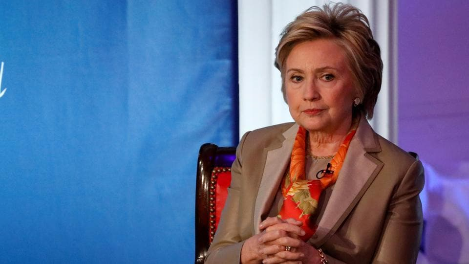 Former presidential candidate Hillary Clinton takes part in the Women for Women International Luncheon in New York City earlier this year.