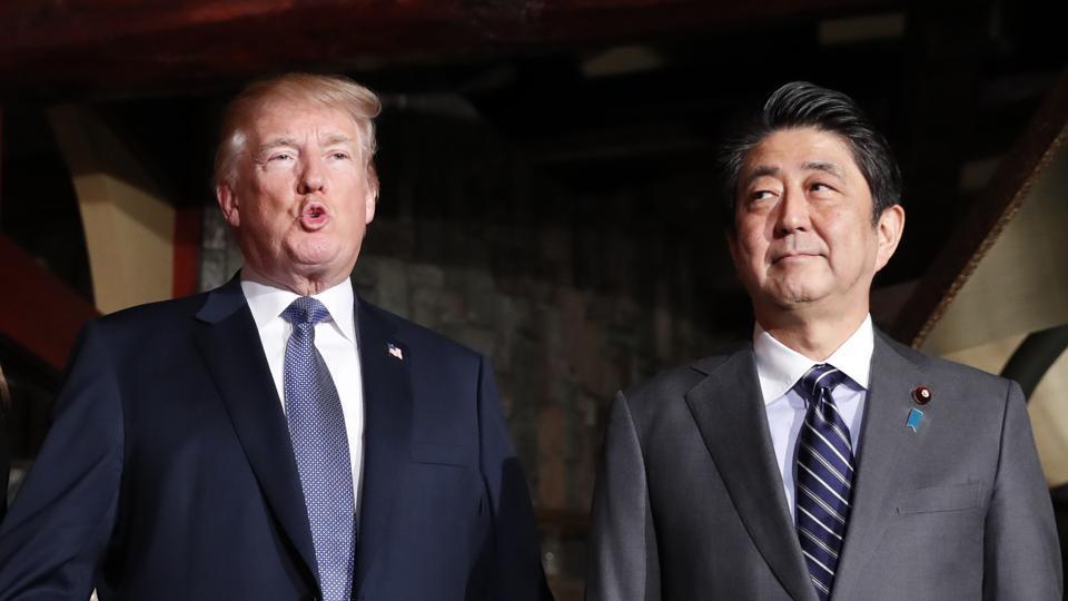 Donald Trump promises Japans Shinzo Abe that US will