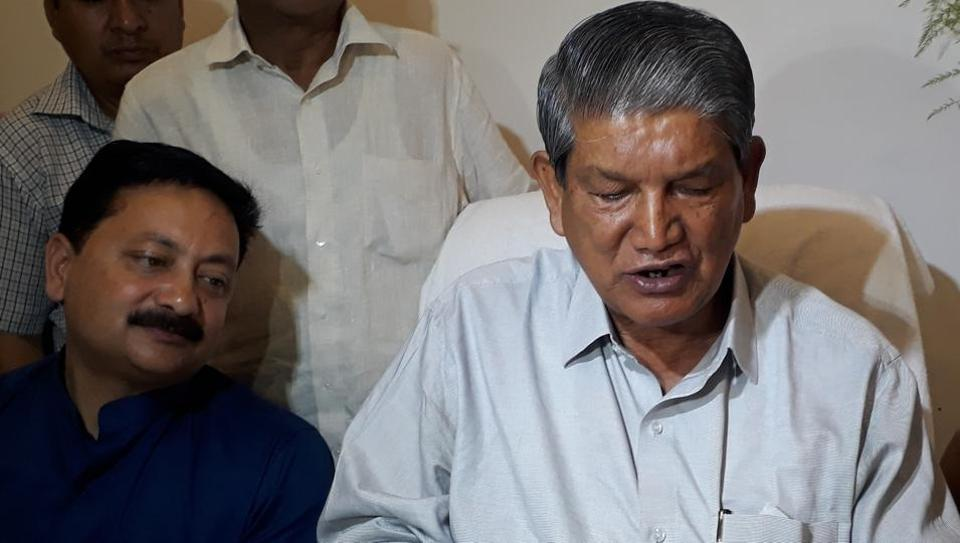 Karan Mahra said that he, being a close confidante of Harish Rawat, is also being victimised.