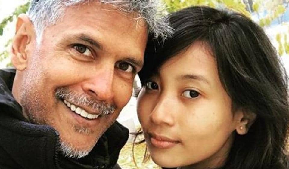 Milind Soman S Birthday Includes Vacation With Girlfriend