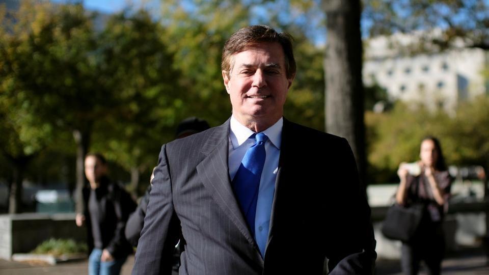 US President Donald Trump's former campaign chairman, Paul Manafort.