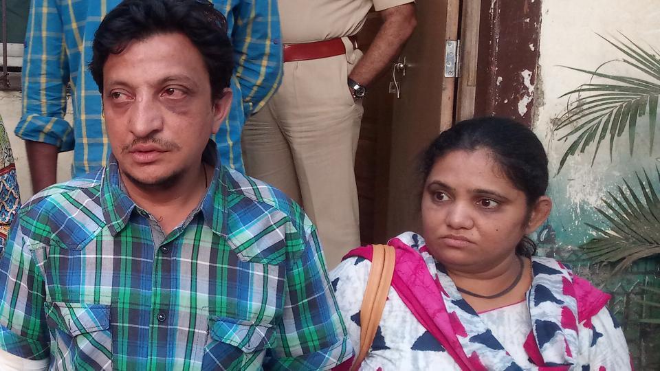 Bhavin Shah and his wife Hetal.