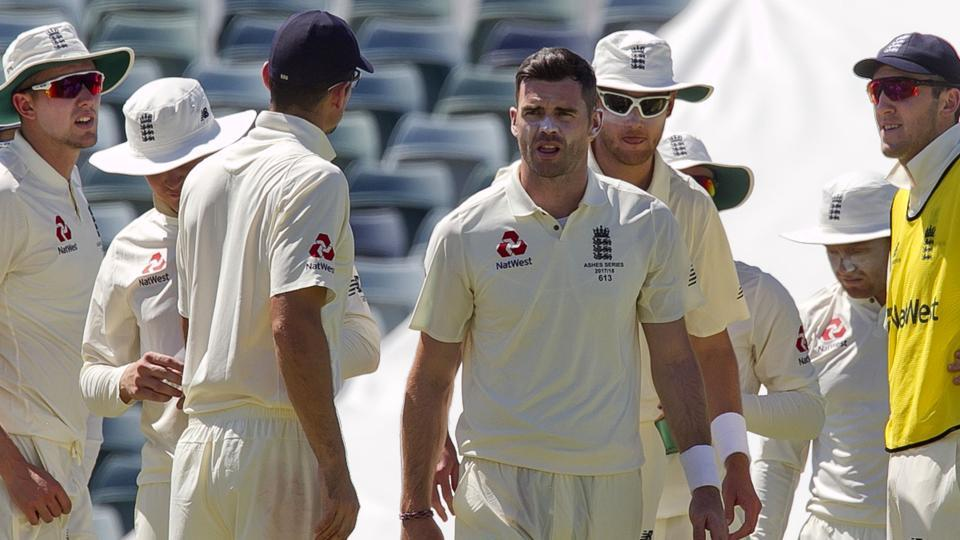 The Ashes,Ashes 2017/18,James Anderson