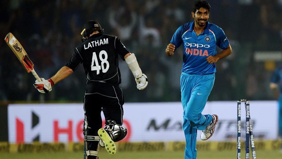 India vs New Zealand,Jasprit Bumrah,Mitchell Santner