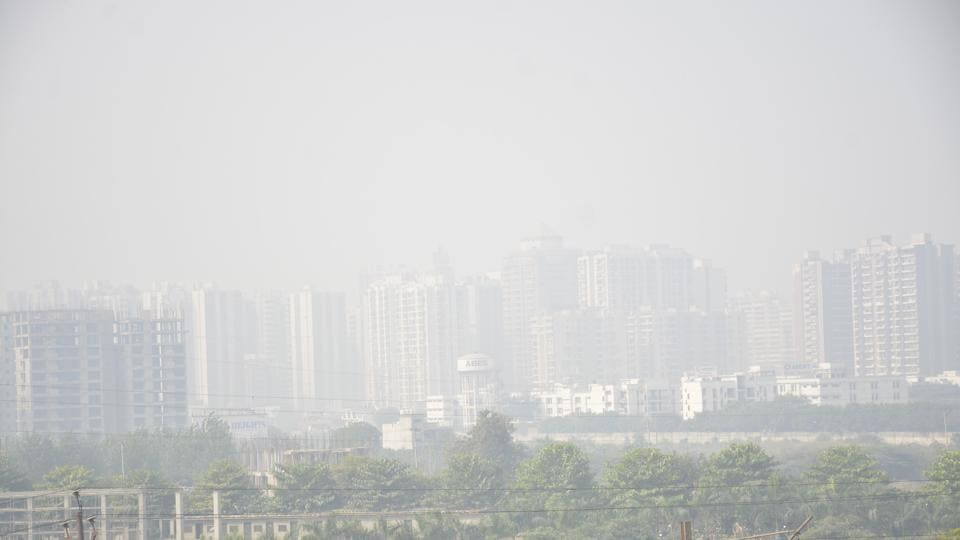A cloud of smog covered Ghaziabad on Monday when the air pollution level here was the most severe as compared to all cities in the country.