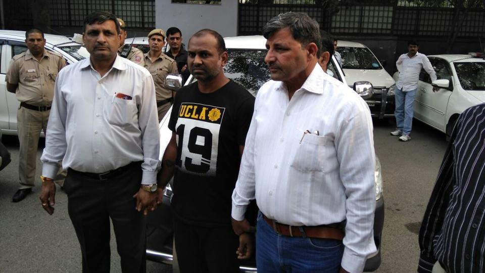 Accused Mahesh Goyal was arrested by Delhi police on Monday.