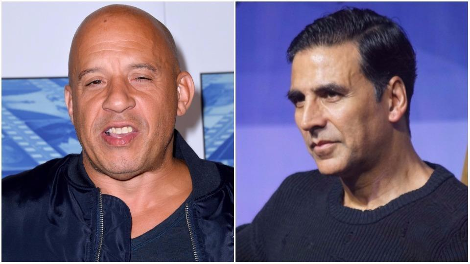 How hard is it to believe that Vin Diesel and Akshay Kumar are the same age?