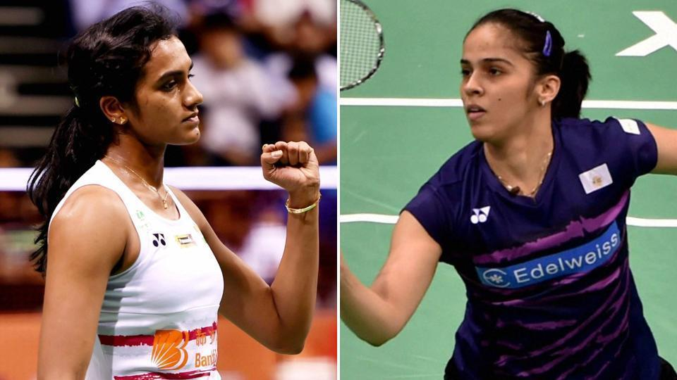 It's been a while since PVSindhu or Saina Nehwal (right)have played the badminton national championships, and they have never faced each other at the nationals. Saina won the 2006 and 2007 editions while Sindhu was champion in 2011 and '13.