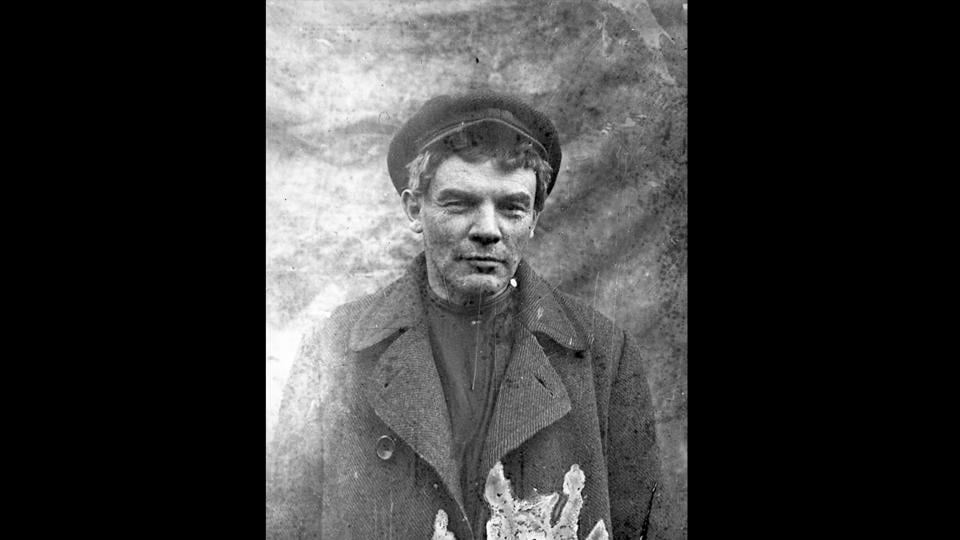 A clean-shaven Vladimir Lenin seen in disguise as he hid in a village north-west of St. Petersburg, Russia in August 1917. With crackdowns on Bolshevik support after the July Days encounters, Vladimir Lenin also went into hiding with orders for his arrest and trial put out. Bolshevik supporters were disarmed and their armed units in Petrograd were sent to the war front. (Russian State Archive of Social and Political History via AP)