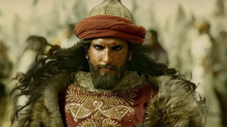 Ranveer Singh plays Allauddin Khilji in Padmavati.