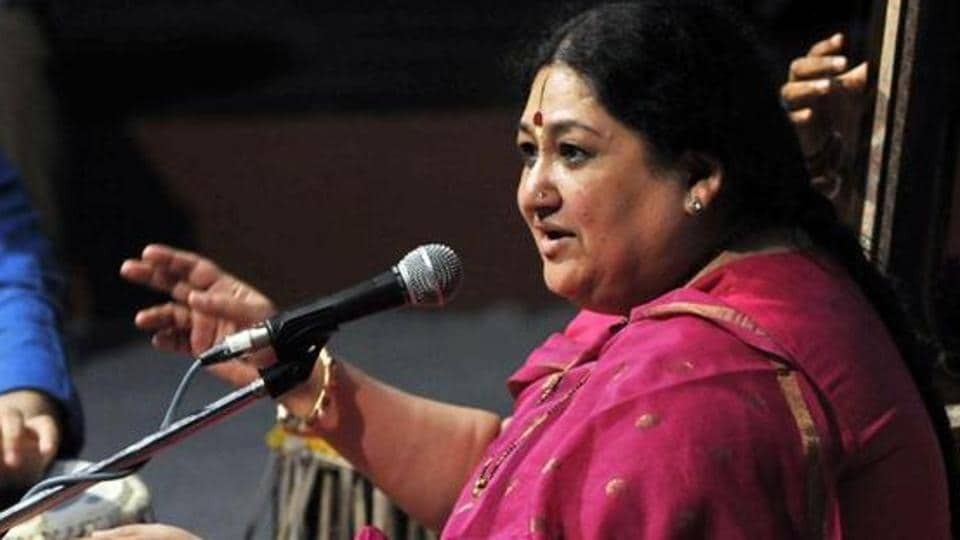 Hindustani classical singer Shubha Mudgal had filed an FIR with the Delhi police earlier this year.