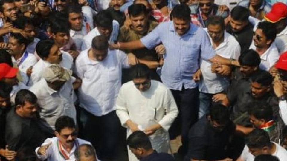 Raj Thackeray had led a protest march on October 5 to Western Railway headquarters in Churchgate after the Elphinstone Road stampede.