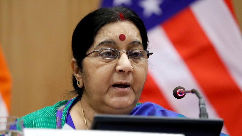 The family of a girl from Punjab who is reportedly trapped in Saudi Arabia have approached external affairs minister Sushma Swaraj for help.