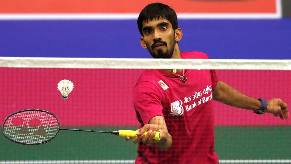 Kidambi Srikanth will face HSPrannoy in the National badminton championship final.