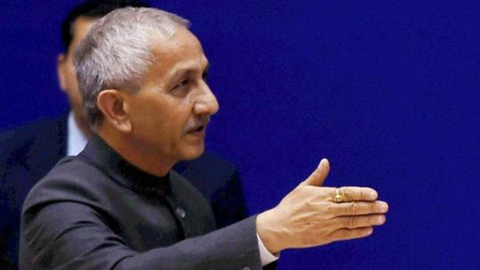 Former IB Director and Kashmir interlocutor  Dineshwar Sharma who is on a five-day visit to Jammu and Kashmir met 32 delegations in Srinagar on the second day of his visit on Tuesday.