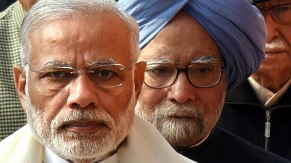 Prime Minister Narendra Modi said he met Manmohan Singh several times over the Sardar Sarovar dam issue, but Singh denied it.