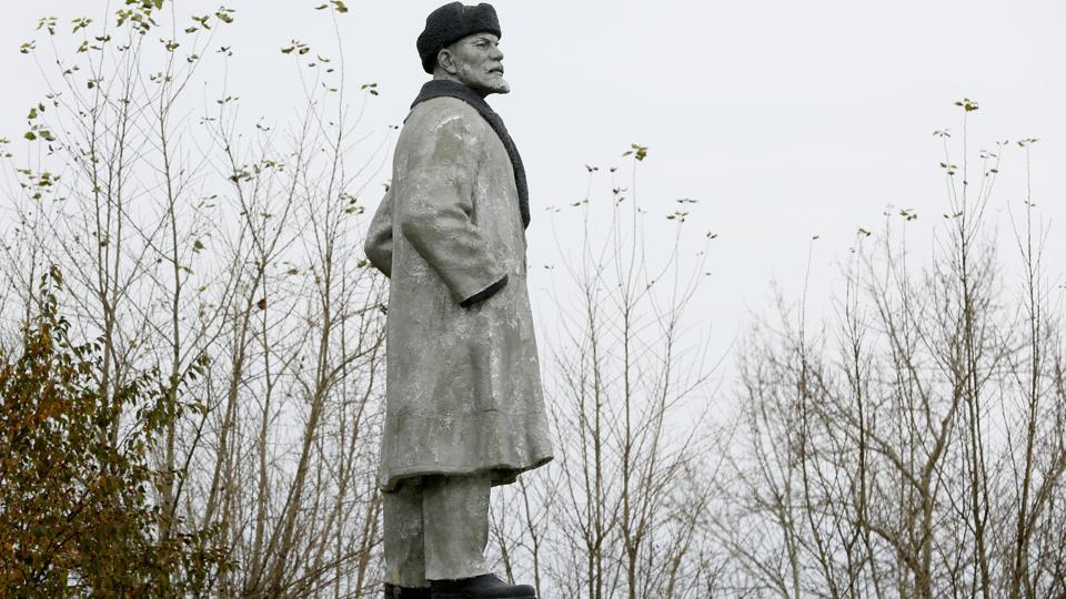 A monument to Vladimir Lenin stands at a park of the Siberian town of Uzhur in Krasnoyarsk region of Russia. Lenin was born in 1870 and became one of the 20th century's most important leaders as the revolution inspired by Karl Marx transformed Russia and influenced Socialists around the world for decades. (Ilya Naymushin / REUTERS)