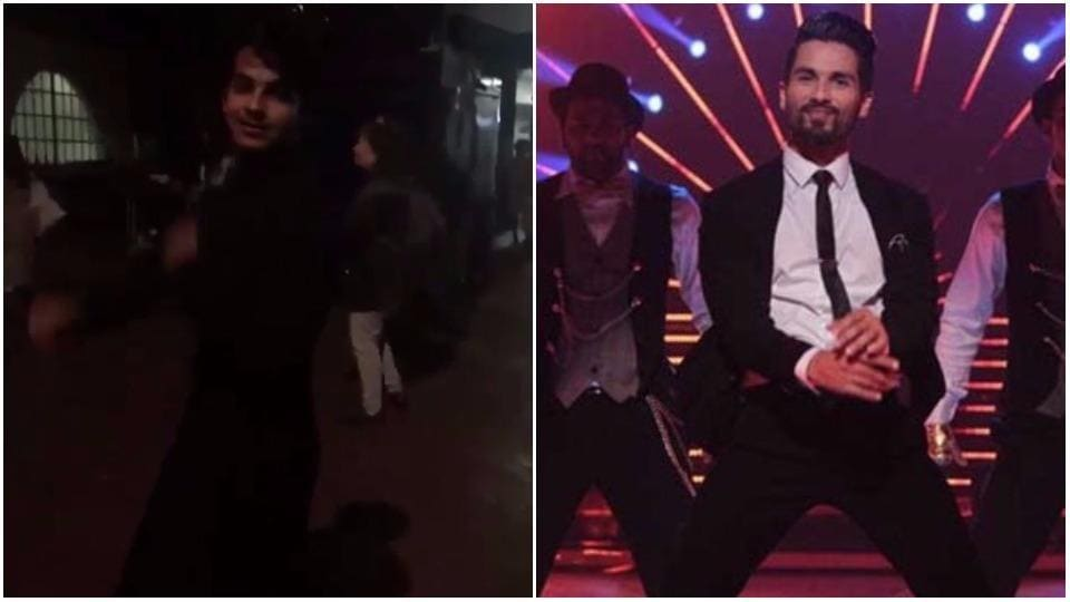 Ishan Khattar got the moves like Shahid Kapoor!