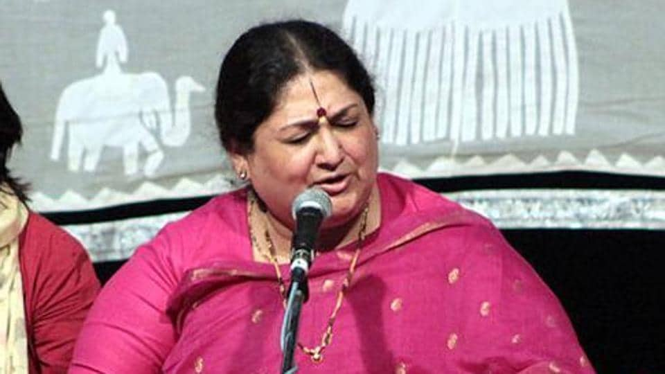 The first information report (FIR) was filed based on a complaint filed by popular Hindustani classical singer Shubha Mudgal.