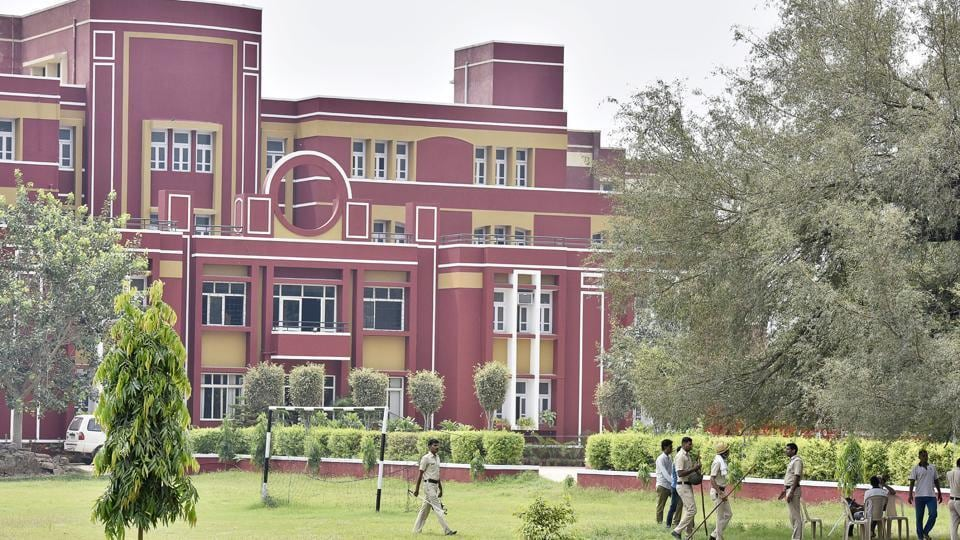 An eight-year-old boy was found with his throat slit outside a bathroom on the Ryan school  premises in Gurgaon on September 8.