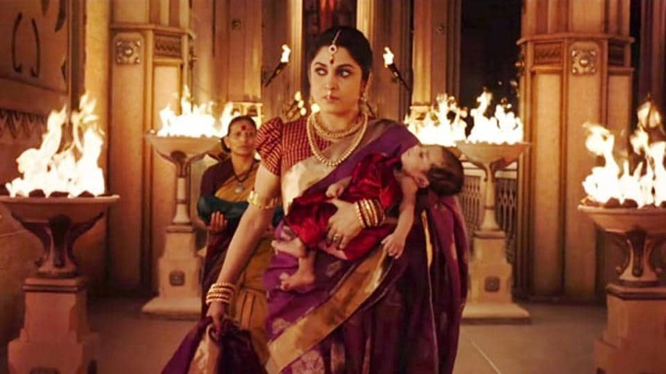 In Baahubali series, actor Ramya Krishnan played the part of Sivagami.