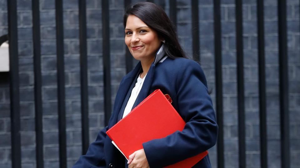 Britain's international development secretary Priti Patel.