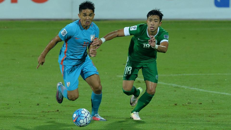Indian football,Indian football team,Sunil Chhetri