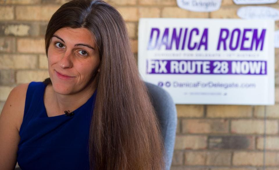 File photo of Danica Roem.