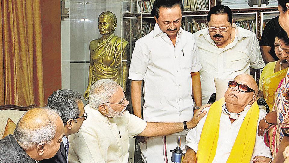 Modi,PM Modi,Karunanidhi