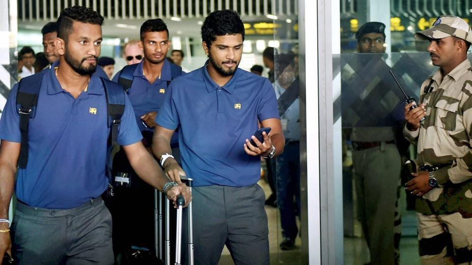 Image result for Sri Lankan cricket team arrive in Kolkata