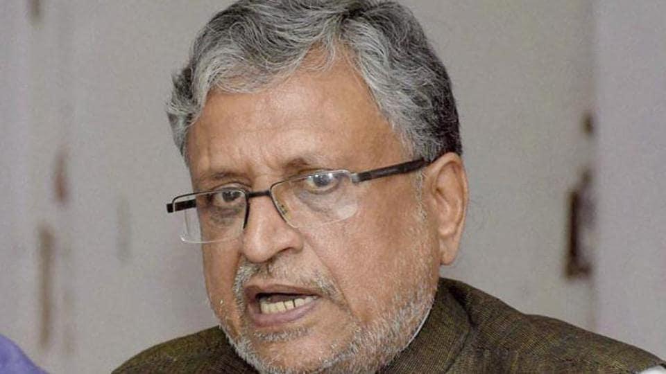 GST,GST Council,Sushil Modi