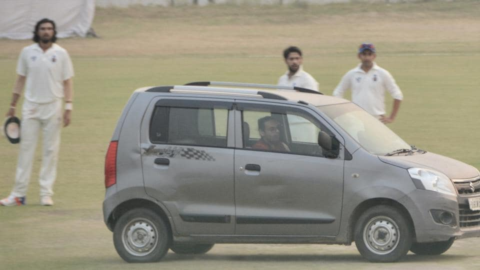 The Delhi vs Uttar Prades game in Palam was halted for a few minutes after a car was driven on to the middle of the cricket pitch and this has highlighted the antipathy of the Board of Control for Cricket in India towards domestic cricket.